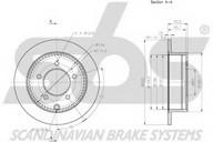 Disc frana sbs 1815203058
