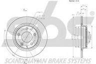 Disc frana sbs 1815203269