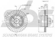 Disc frana sbs 1815203910