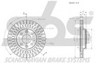 Disc frana sbs 1815203996