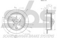 Disc frana sbs 1815204418