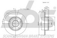 Disc frana sbs 1815204763
