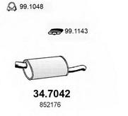 Toba esapament finala ASSO 34.7042