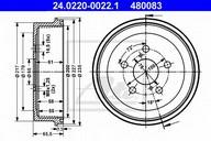 Tambur frana ATE 24.0220-0022.1