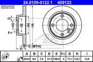 Disc frana ATE 24.0109-0122.1