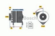 Generator/alternator BOSCH 0 986 030 790