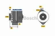Generator/alternator BOSCH 0 986 041 620