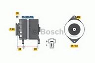 Generator/alternator BOSCH 0 986 032 621