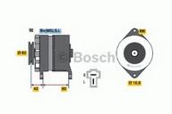 Generator/alternator BOSCH 0 986 032 661