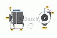 Generator/alternator BOSCH 0 986 033 441