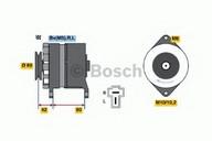 Generator/alternator BOSCH 0 986 034 281