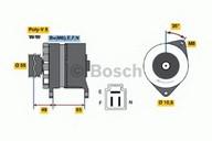 Generator/alternator BOSCH 0 986 034 321