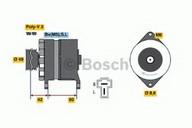 Generator/alternator BOSCH 0 986 035 411