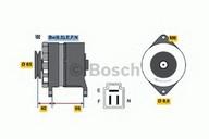 Generator/alternator BOSCH 0 986 035 491