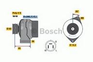 Generator/alternator BOSCH 0 986 035 501