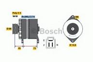 Generator/alternator BOSCH 0 986 035 521