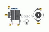Generator/alternator BOSCH 0 986 036 501