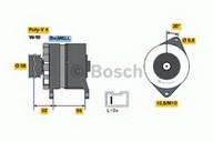 Generator/alternator BOSCH 0 986 036 851
