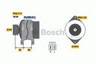 Generator/alternator BOSCH 0 986 038 281