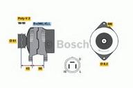 Generator/alternator BOSCH 0 986 038 471