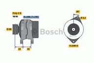 Generator/alternator BOSCH 0 986 038 740