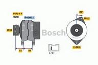 Generator/alternator BOSCH 0 986 038 831