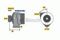 Generator/alternator BOSCH 0 986 039 300