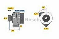 Generator/alternator BOSCH 0 986 039 760
