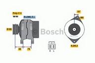 Generator/alternator BOSCH 0 986 040 511