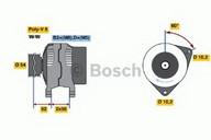 Generator/alternator BOSCH 0 986 043 960