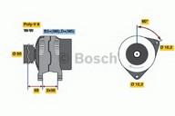 Generator/alternator BOSCH 0 986 041 250