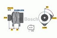 Generator/alternator BOSCH 0 986 042 620