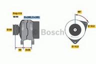 Generator/alternator BOSCH 0 986 041 330