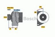 Generator/alternator BOSCH 0 986 041 740