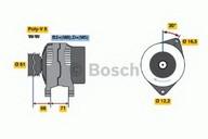 Generator/alternator BOSCH 0 986 042 000