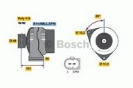 Generator/alternator BOSCH 0 986 042 540