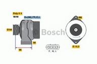 Generator/alternator BOSCH 0 986 042 861