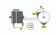 Generator/alternator BOSCH 0 986 044 581