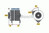 Generator/alternator BOSCH 0 986 044 781
