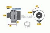 Generator/alternator BOSCH 0 986 047 550