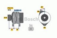 Generator/alternator BOSCH 0 986 049 191