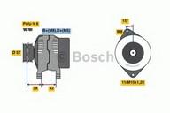 Generator/alternator BOSCH 0 986 049 960