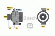 Generator/alternator BOSCH 0 986 080 220