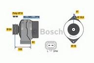 Generator/alternator BOSCH 0 986 080 380