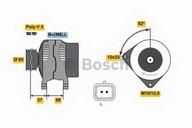 Generator/alternator BOSCH 0 986 080 960