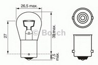 Bec, lampa mers inapoi BOSCH 1 987 302 214