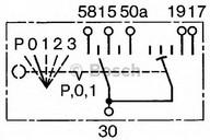 Comutator, sistem de preincalzire BOSCH 0 342 316 003