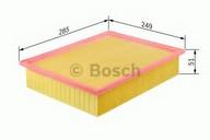 Filtru aer BOSCH F 026 400 166