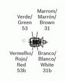 Motor stergator BOSCH F 006 B20 050