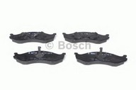 Set placute frana, frana disc BOSCH 0 986 424 284